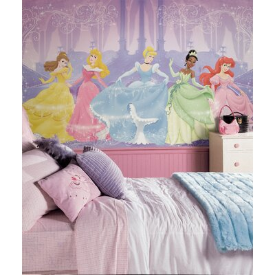 Room Mates XL Murals Perfect Princess Chair Rail Wall Decal