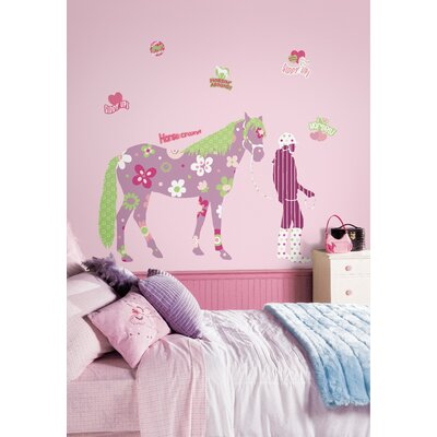 Room Mates Horse Crazy Giant Wall Decal