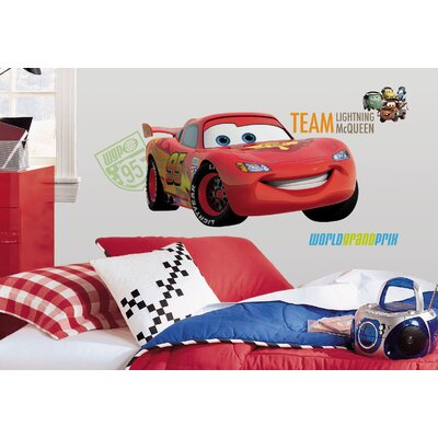 Room Mates Cars 2 Giant Wall Decal