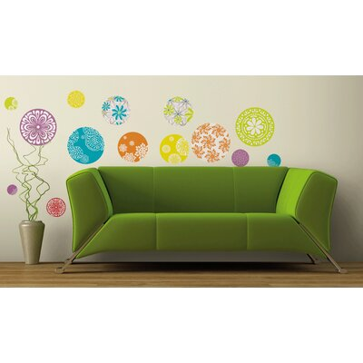 Room Mates Patterned Dots Wall Decal