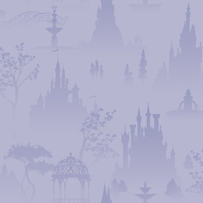 Room Mates Scenic Princess Toile in Purple