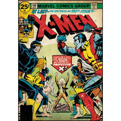 Room Mates X Men Peel and Stick Comic Book Cover Wall Decal