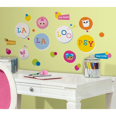 Room Mates Lalaloopsy Polka Dots Peel and Stick Wall Decal