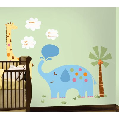 Room Mates It's a  Baby Peel and Stick Peel and Stick Giant Wall Decals