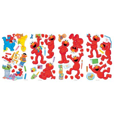Room Mates Sesame Street ElmoCentric Peel and Stick Wall Decals