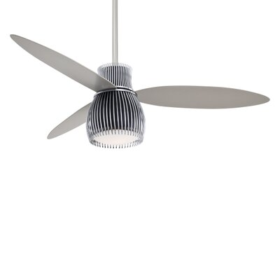 "Minka Aire 56"" Uchiwa 3 Blade Ceiling Fan with Remote"