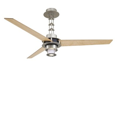 "Minka Aire 56"" San Francisco 3 Blade Ceiling Fan with Wall Control"