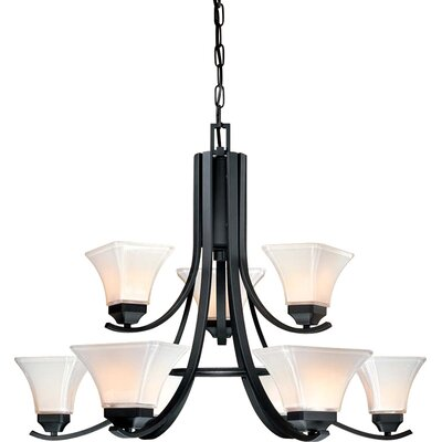 Minka Lavery Agilis 9 Light Chandelier
