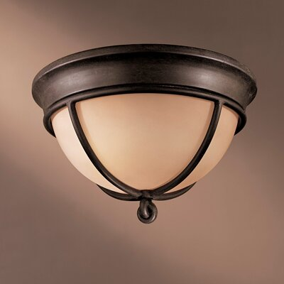 Minka Lavery Aspen II 2 Light Flush Mount