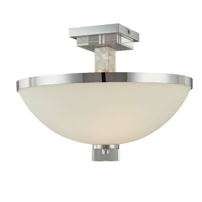 Minka Lavery Cashelmara 2 Light Semi Flush Mount