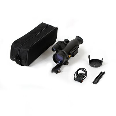 Sentinel CF Super 2x50 Hunting Rifle Scope with Long Mount for Bolt Action Rifles
