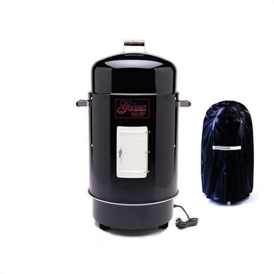Brinkmann Gourmet Electric Smoker & Grill with Vinyl Cover