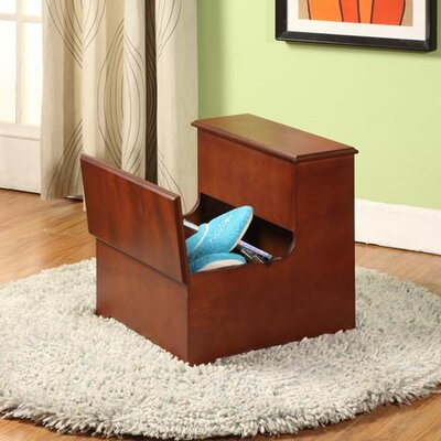 InRoom Designs Storage Step Stool