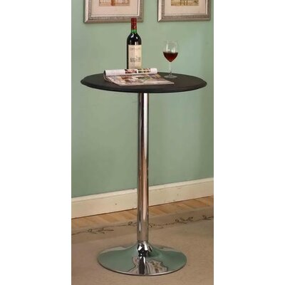 InRoom Designs Round Bar Table Set