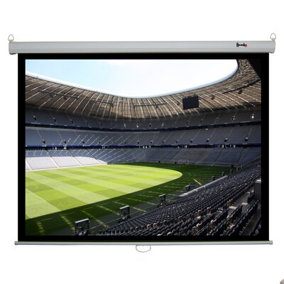 Recordex 84&quot; Clarity Electric Screen 4:3 Matte in White