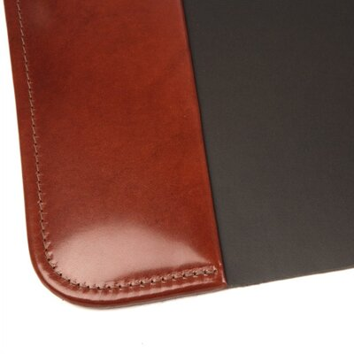 "Bosca Old Leather 34"" x 20"" Desk Pad in Cognac"