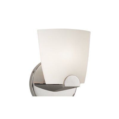 WAC Lighting Contemporary Ella Line Voltage 1 Light Wall Sconce