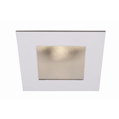 WAC LEDme SQUARE Shower Trim with Optional Housing