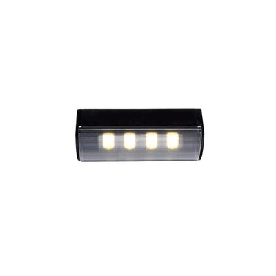 WAC Lighting 24 Volts 4 LED Fixture For Linear System in Black