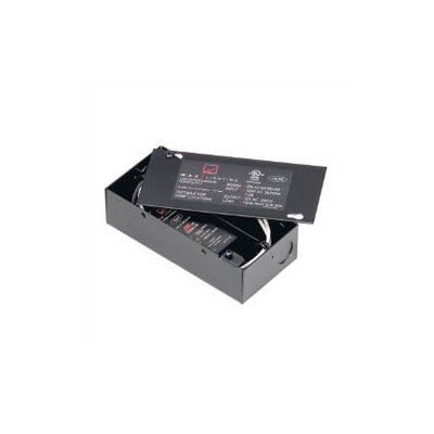 120V Remote Electronic Transformer in Black