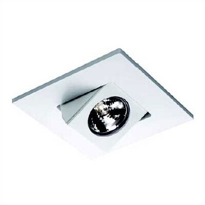 WAC Lighting 4&quot; Low Voltage Recessed Elbow Directional Spotlight with Trim