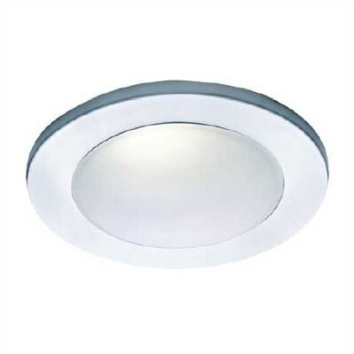 "WAC Lighting 4"" Low Voltage Drop Dish Dome Recessed Lighting Trim for Showers"