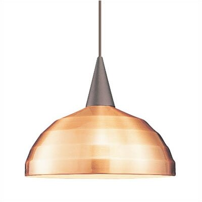 WAC Lighting Industrial 1 Light Pendant
