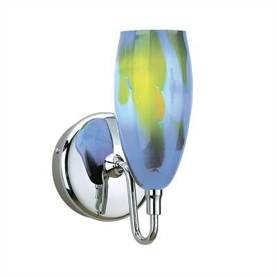 WAC Lighting Cased Glass Dome Wall Sconce