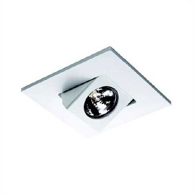 "WAC Lighting 4"" Low Voltage Recessed Elbow Directional Spotlight with Trim"