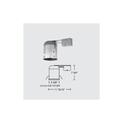 "WAC Lighting 5"" Line Voltage IC/Non-IC Remodel Housing"