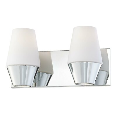 George Kovacs by Minka Retrodome 2 Light Bath Vanity Light