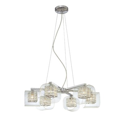 George Kovacs by Minka 6 Light Chandelier