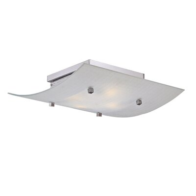 George Kovacs by Minka 4 Lights Flush Mount