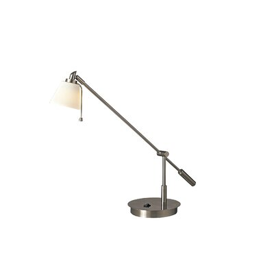 George Kovacs by Minka George's Reading Room Table Lamp with Glass Shade