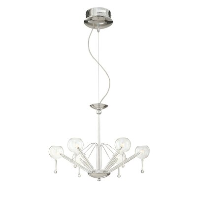 George Kovacs by Minka Families 6 Light Chandelier