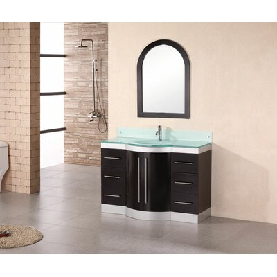 "Design Element Jade 48"" Single Sink Vanity Set"