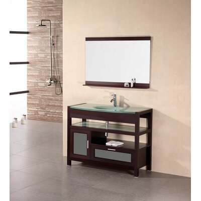 "Design Element Milan 43"" Single Sink Vanity Set"