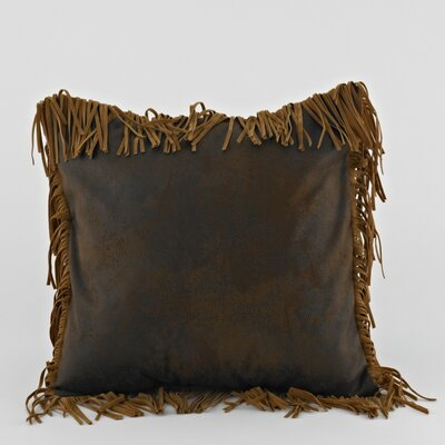 Eagle River Pinto Fringed Pillow