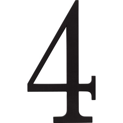 "Atlas Homewares 6"" The Traditionalist House Numbers"