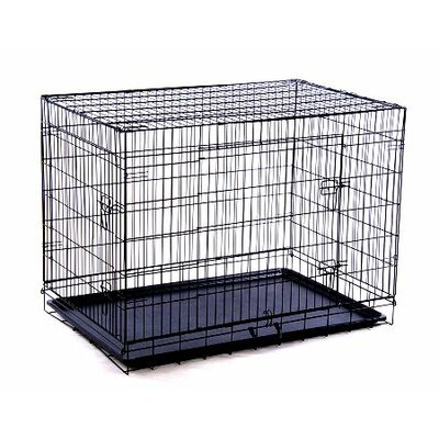 Aosom LLC Double Door Wire Dog Crate