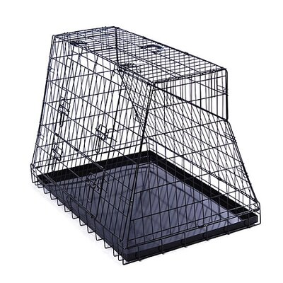 "Aosom LLC 40"" Sloped Car Pet Cage"