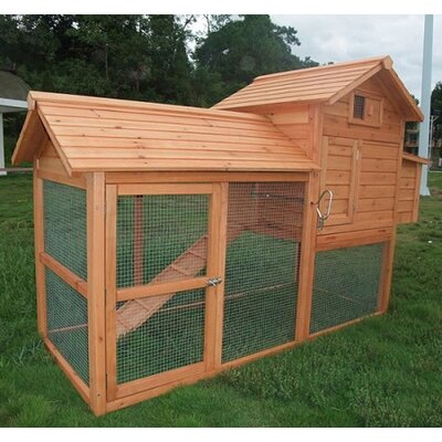 Aosom LLC Large Pawhut Chicken Coop