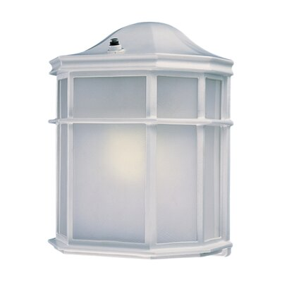 Great Outdoors by Minka Outdoor Wall Lantern in White - Energy Star