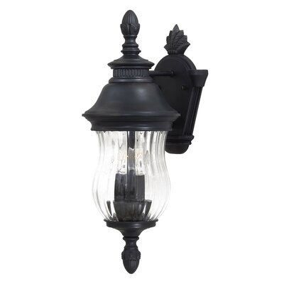 Great Outdoors by Minka Newport Medium Outdoor Wall Lantern