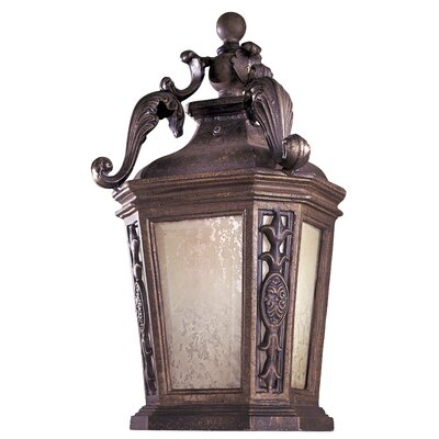 Great Outdoors by Minka Buckingham Small Outdoor Wall Lantern - Energy Star