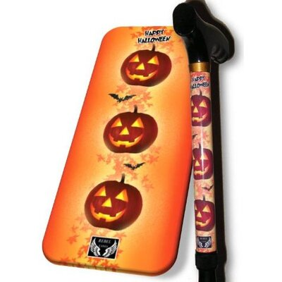 Rebel Canes Pumpkin Cane in Black