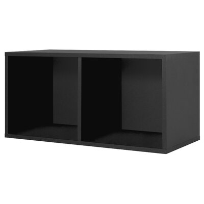 Foremost Modular Storage Large Divided Cube in Black