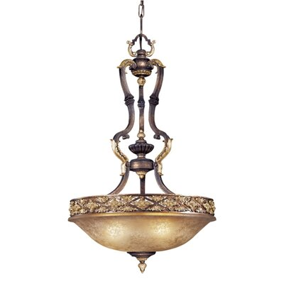 Mariner Metropolitan 3 Light Inverted Pendant