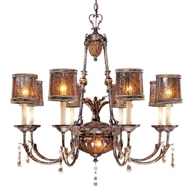 Metropolitan by Minka Sanguesa 9 Light Chandelier