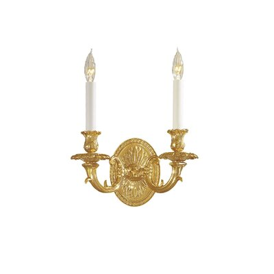 Metropolitan by Minka Vintage Candle Wall Sconce in French Gold ...